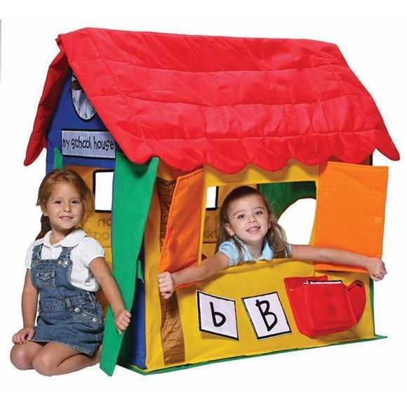 Lifespan Bazoongi Learning Cottage Playhouse- Bounce and Swing