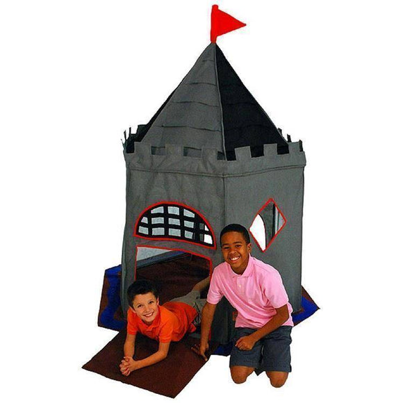 Lifespan Bazoongi Special Edition Knight Castle Playhouse- Bounce and Swing