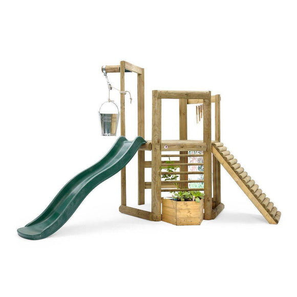 Bounce and Swing:PLUM Discovery Woodland Treehouse