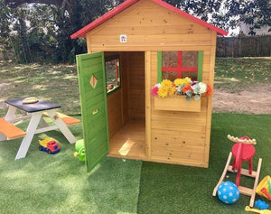 Bounce and Swing:Hide and Seek Bertie Kids Cubby House