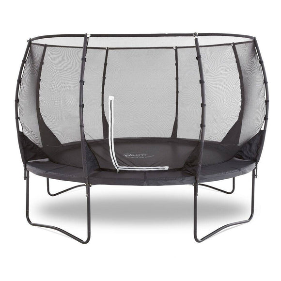 PLUM 14ft Premium Magnitude Spring Safe® Trampoline Trampolines- Bounce and Swing