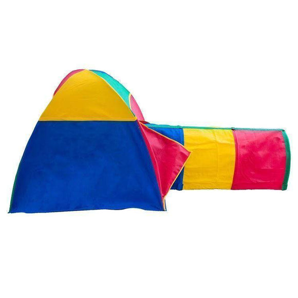 Lifespan Bazoongi Cabana & Multi Colour Tunnel Playhouse- Bounce and Swing