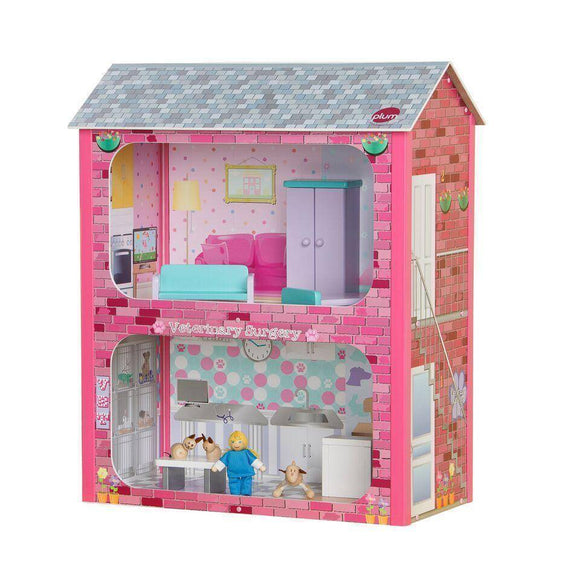 PLUM Camden Dolls House Play Sets- Bounce and Swing