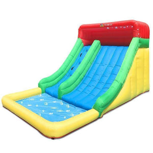 Lifespan Typhoon Mega Slide & Splash Jumping Castles- Bounce and Swing