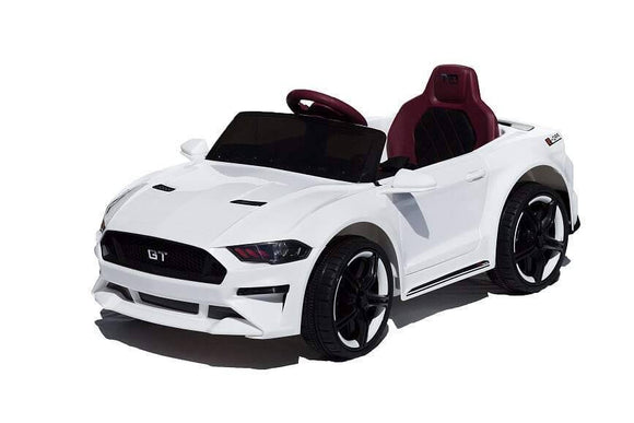 Ford GT  Electric Ride On Toy Car 12v (White)