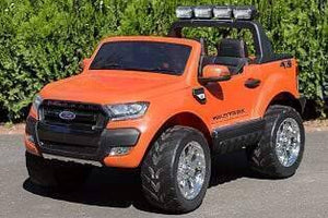 Ford Ranger Electric Ride On Toy Car 24v (Orange)