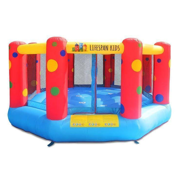 Lifespan AirZone 8 12ft Bouncer Jumping Castles- Bounce and Swing