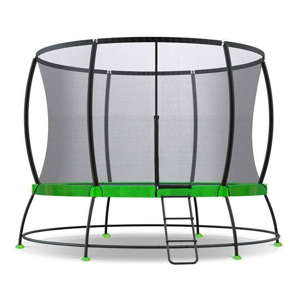 Lifespan HyperJump 2 10ft Spring Trampoline Trampolines- Bounce and Swing