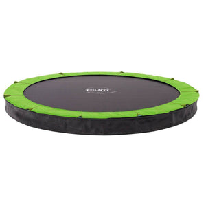 PLUM 8ft Circular In-Ground Trampoline Trampolines- Bounce and Swing