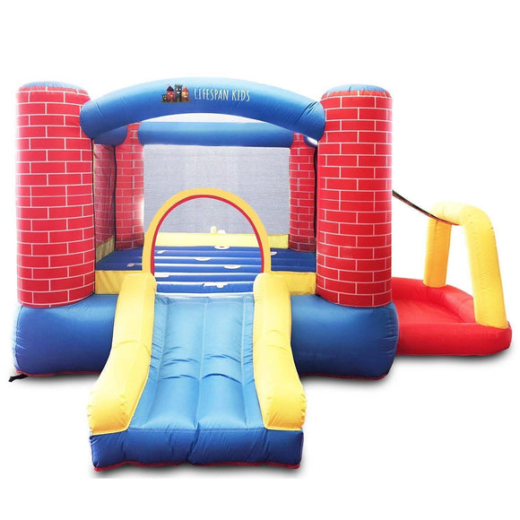Lifespan Bouncefort Jumping Castle & Ball Play 2 Jumping Castles- Bounce and Swing