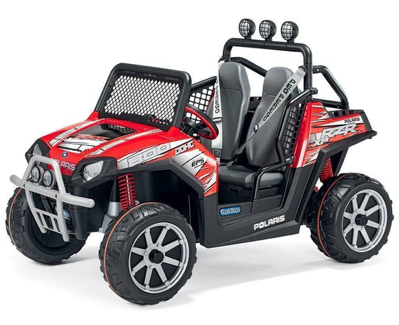 Peg Perego Polaris Ranger Electric Car Quad 24v Ride On- Bounce and Swing