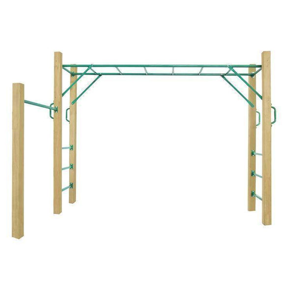 Lifespan Amazon Monkey Bars Set Play Sets- Bounce and Swing