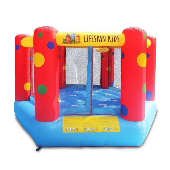 Lifespan AirZone 6 9ft Bouncer Jumping Castles- Bounce and Swing