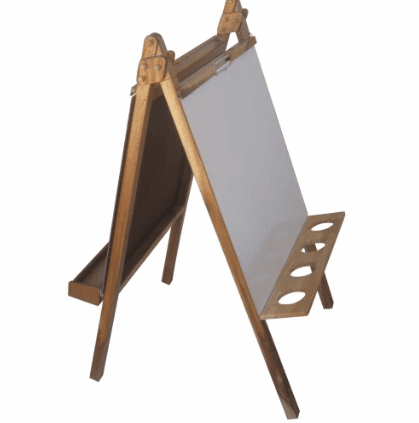 QToys Five in One Painting Easel Art&Craft- Bounce and Swing