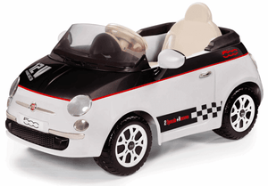Peg Perego FIAT 500 White  Electric Kids Car 12v Ride On