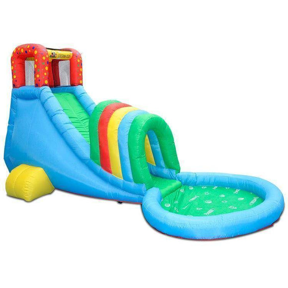 Lifespan Oasis Slide & Splash Jumping Castles- Bounce and Swing