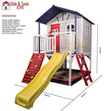 Bounce and Swing:Hide and Seek Marlie Kids Cubby House