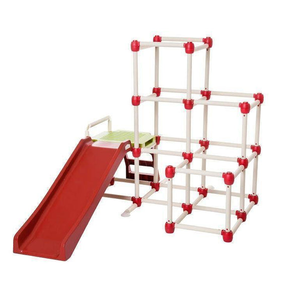 Lifespan Lil' Monkey Everest Climb & Slide Sliders&Swings- Bounce and Swing