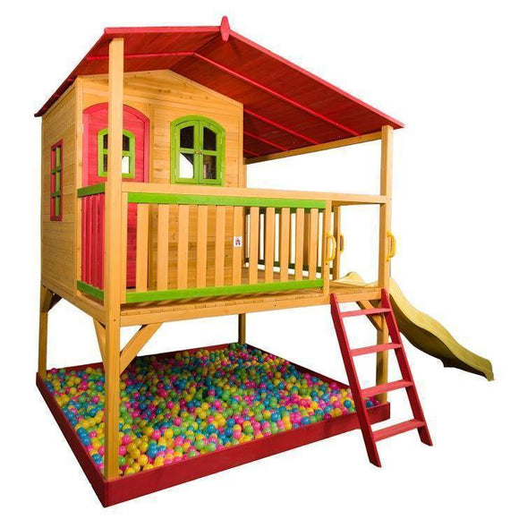 Bounce and Swing:Hide and Seek Georgie Kids Cubby House