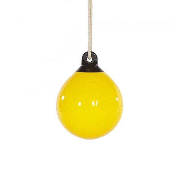 PLUM Yellow Buoy Ball with Hangar - Teal Sliders&Swings- Bounce and Swing