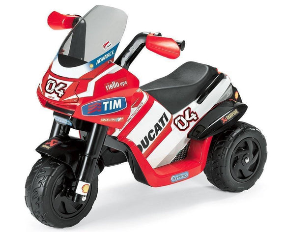 Peg Perego DUCATI DESMOSEDICI Electric Kids Motobike 6v Ride On- Bounce and Swing