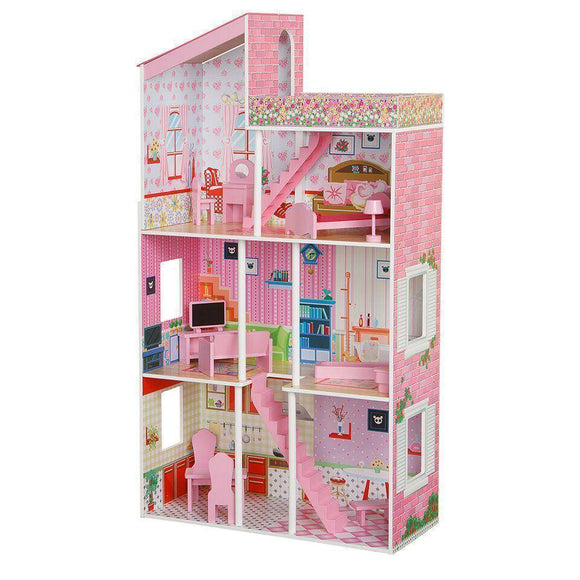 PLUM Tillington Dolls House Play Sets- Bounce and Swing