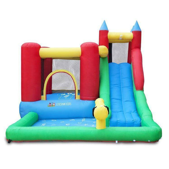 Lifespan Surrey 2 Slide & Splash Jumping Castles- Bounce and Swing