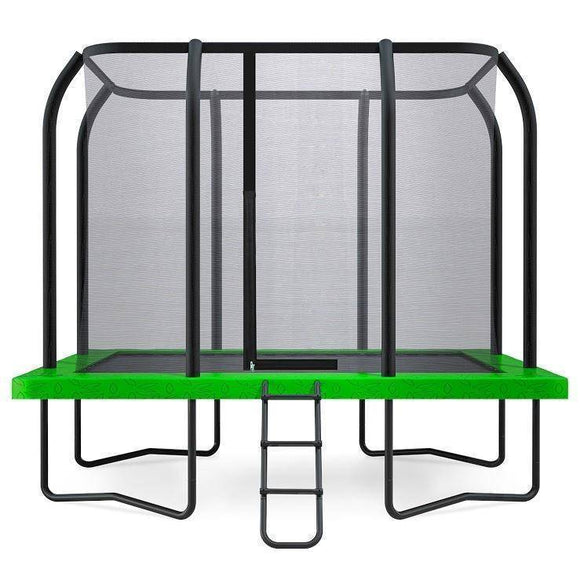 Lifespan 7ft x 10ft Hyperjump Rectangle Spring Trampoline Trampolines- Bounce and Swing