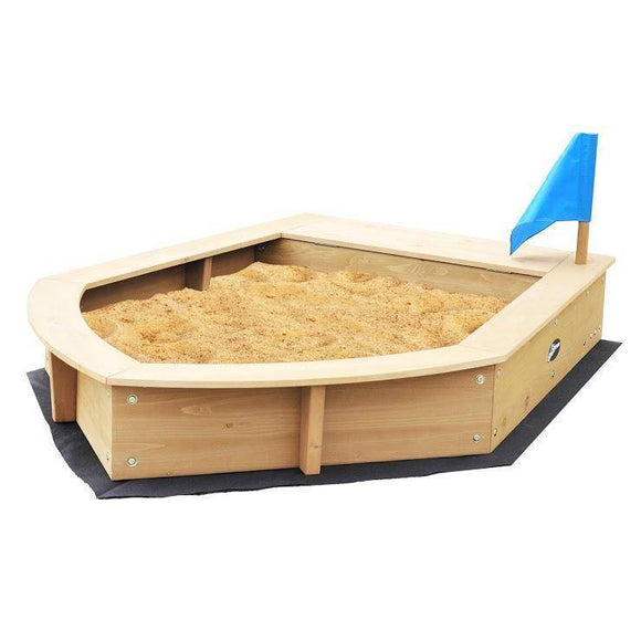 Lifespan Boat Sandpit Outdoor Play- Bounce and Swing
