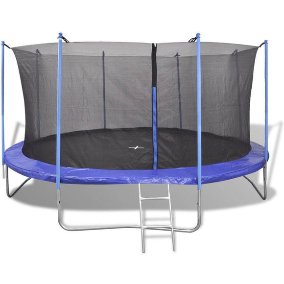 vidaXL Five Piece Trampoline Set 3.96m (13ft)