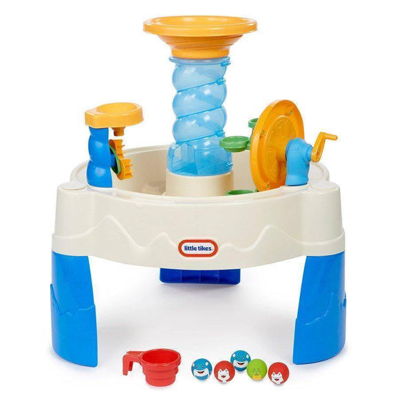 Little Tikes Spiralin' Seas Waterpark Water Table Outdoor Play- Bounce and Swing