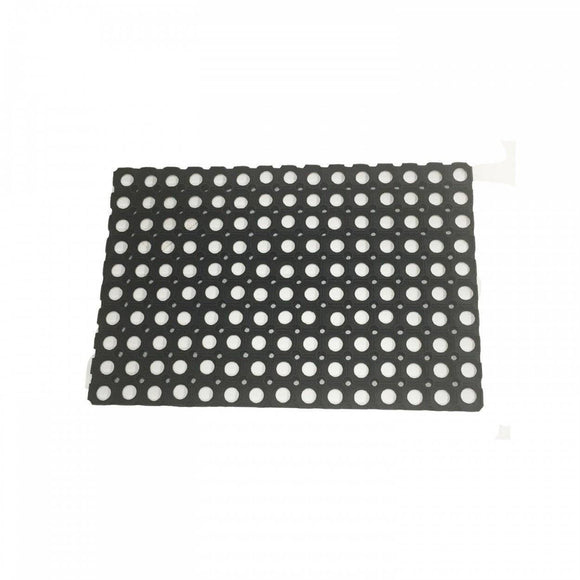 PLUM Protekatmat Rectangle Black - 0.6 x 0.4m - Pack of 10 Accessories- Bounce and Swing