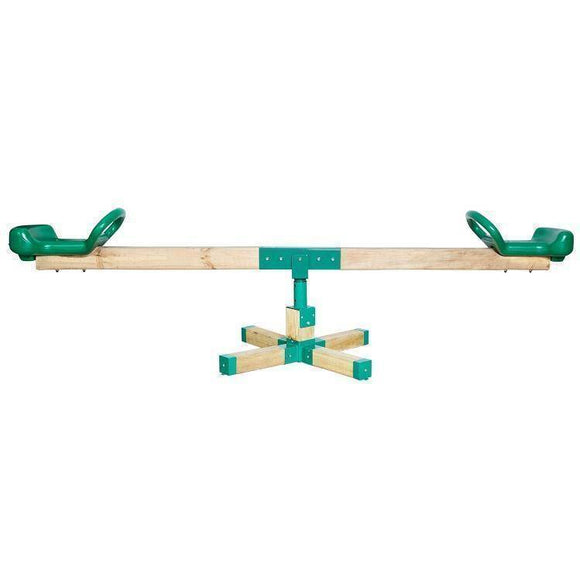 Lifespan Rocka Wooden Seesaw Sliders&Swings- Bounce and Swing