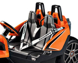 Peg Perego Polaris Slingshot Two-Seater Electric Car 12v Ride On- Bounce and Swing