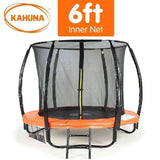 KAHUNA Trampoline 6FT Orange Trampolines- Bounce and Swing