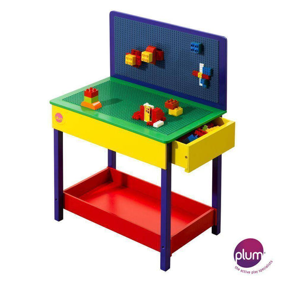 PLUM  Build-It Construction Table Play Sets- Bounce and Swing