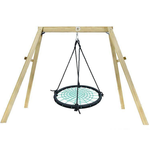 Lifespan Oakley Swing Set with 1m Spidey Web Swing Sliders&Swings- Bounce and Swing
