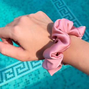 Mulberry Silk Scrunchies - Set of 3