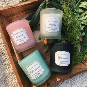 Scented Soy Candles - Set of 4