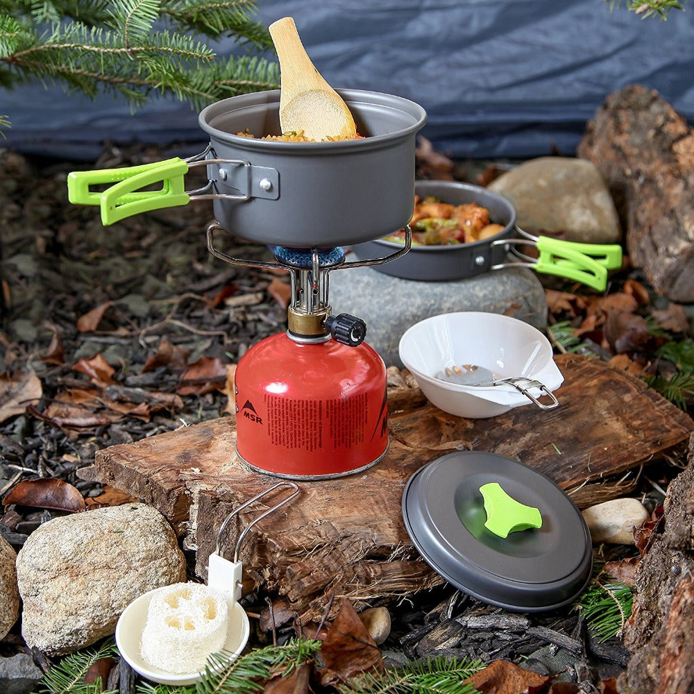 Lightweight All In One Camping Mess Kit For Backpacking Bug Out