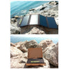25W Portable Folding Waterproof Solar Panel For Charging Phone, Laptop