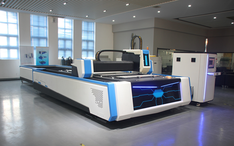 High Precision Fiber Laser Metal Cutter (5' x 10')
