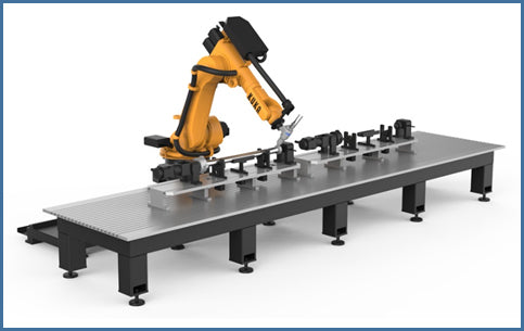 3D Robot Laser Cutting Machine - Blazer Tech
