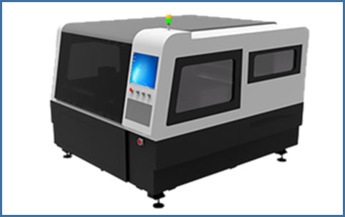 Enclosed Fiber Laser Metal Cutter - Blazer Tech