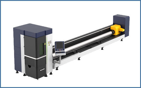Fiber Laser Tube Cutter (6 m long) - Blazer Tech