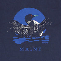 Loon n' Moon w/Maine Adult Navy T-shirt