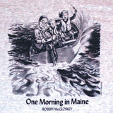 Robert McCloskey's One Morning in Maine – Going Home Adult Ash T-shirt