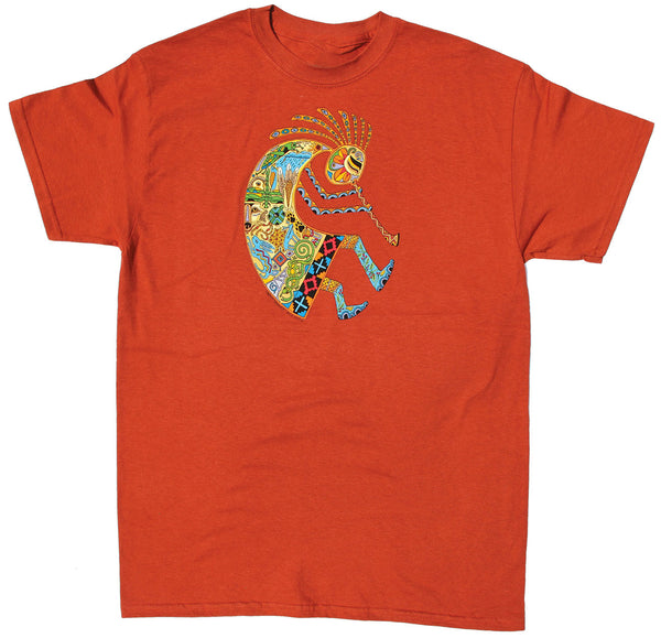 Earth Art Kokopelli Adult T-shirt