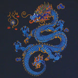 Chinese Dragon Adult Navy T-shirt