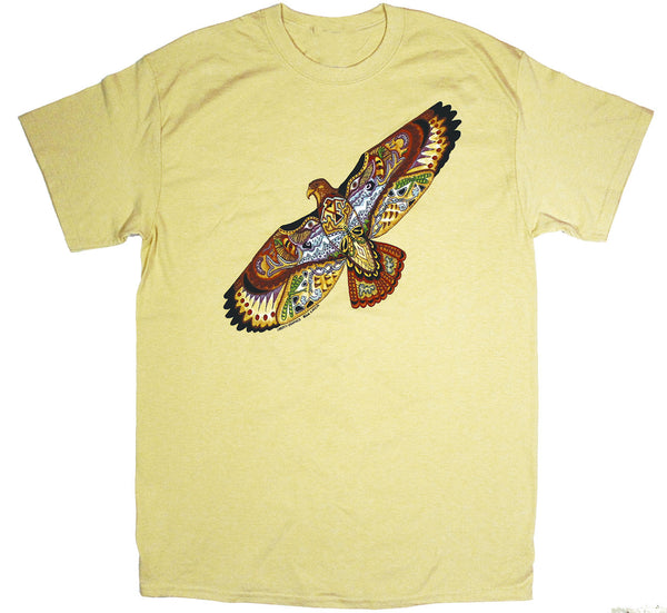 Earth Art Hawk Adult Maize T-shirt
